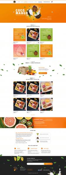 CocoMango интернет магазин экзотических фруктов