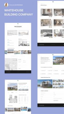 Дизайн сайта для строительной компани