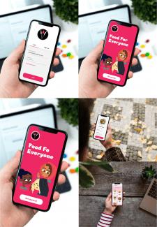 Мобильное приложение еды
