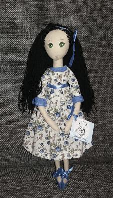 Кукла текстильная, интерьерная, авторская