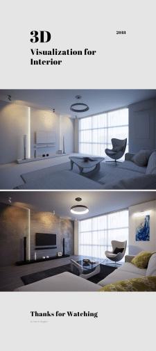 3d Visualization / Interior