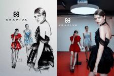 Иллюстрация для бренда одежды