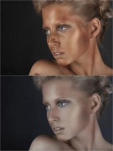 Портрет, ретушь, коррекция