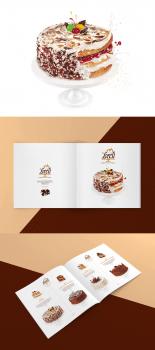 Верстка каталога кондитерской продукции
