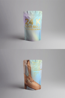 Разработка упаковки скраба для тела