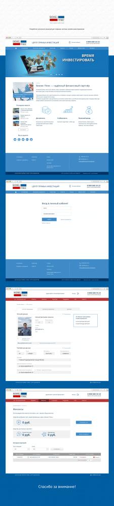 Платформа для онлайн инвестирования - Бизнес Плюс