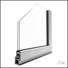 Металлопластиковое окно [разрез]