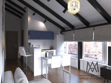 Design studio flat
