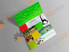 Booklet for the fitness center services