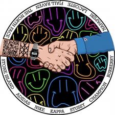 Логотип инстаграм магазина