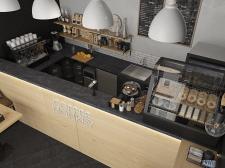 Визуализация кофейни
