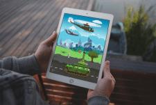 Экран мобильной игры