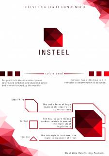Разработка логотипа для Insteel