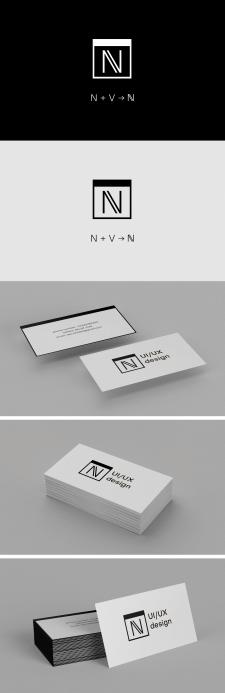 Логотип для UI/UX дизайнера