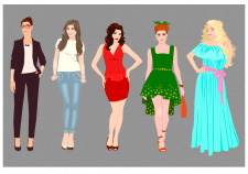 Иллюстрации для видео-ролика
