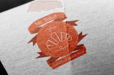 """Логотип пекарни """"Mr. Baker"""""""