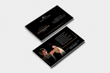 Дизайн визитки для GALITSYNA art group