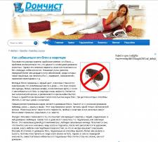 Статья для сайта domchist.com