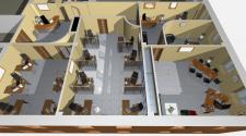 решение по разделению офисного пространства