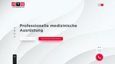 Разработка сайта визитки для компании ATIG