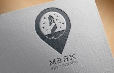 "Логотип для Арт-студии ""МАЯК"""