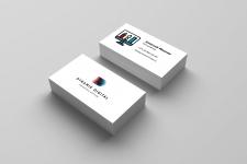 Визитка для digital агентства