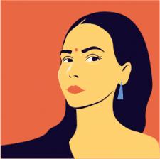 Иллюстрация, портрет