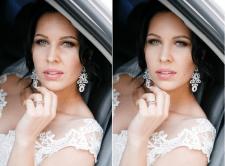 Обработка свадебного фото (ретушь)