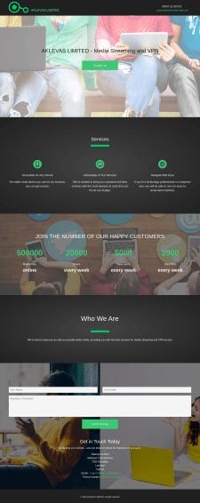 Рекламный сайт Мультимедийного сервиса
