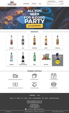 Интернет-магазин спиртных напитков (Австрия)