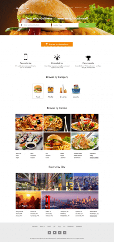 Онлайн ресторан