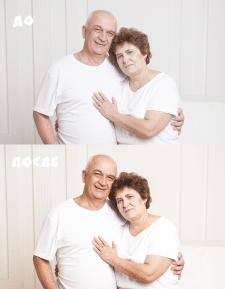 ретушь/цветокоррекция - семейный портрет