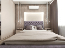 Interior design. Bedroom_var2