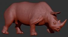 Модель носорога