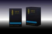Этикетка для мужской косметики