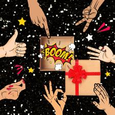 Анимация для магазина подарков