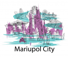 My vision of Mariupol in vector