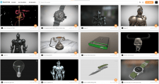 3D-модели на Sketchfab (интерактивный просмотр)