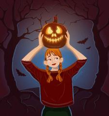 "illustration ""Time for magic"""