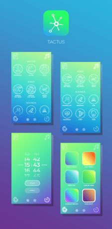 Дизайн приложения Tactus