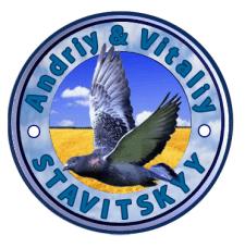 Логотип приватних осіб по поштових голубах