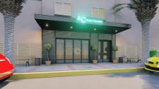 Проект дизайна фасада мини отеля