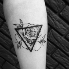 Тату Роза tattoo rose