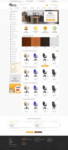 Дизайн интернет-магазина офисной мебели