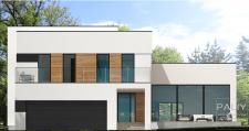 Проект Коттеджа С Плоской Крышей