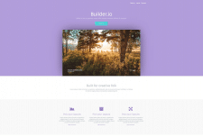 Builder HTML Template