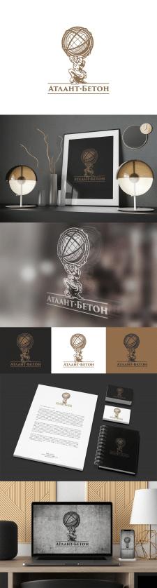 Логотип Атлант Бетон
