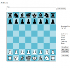 """Created a game """"Chess"""" with game algorithms:"""