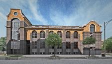 Эскизный проект административного здания