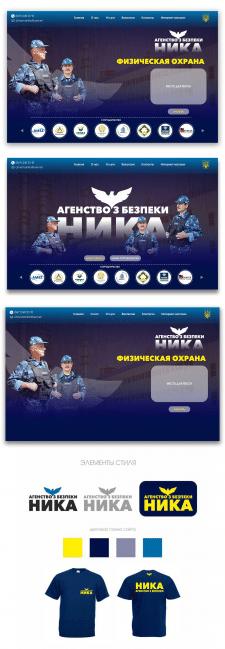 Дизайн сайта НИКА